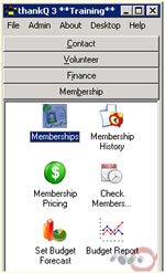 Membership Software Module